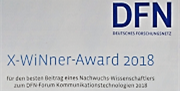 X-WiNer-Award 2018 des DFN